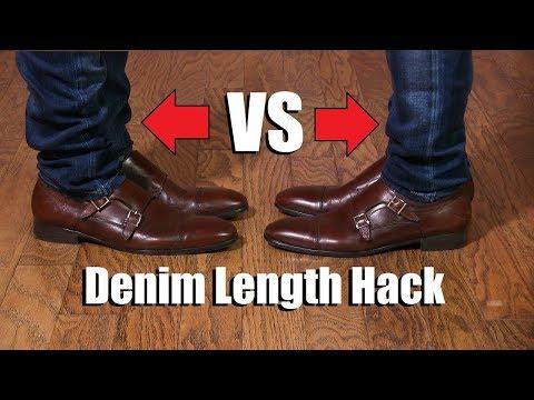 Denim Leg Length Hack EVERY Guy Should Know!