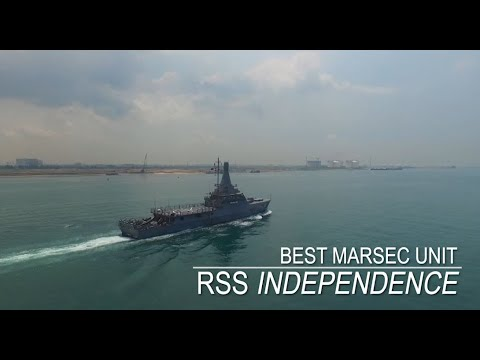 SAF Day Best Unit Competition 2019: Best MARSEC Unit - LMV RSS Independence