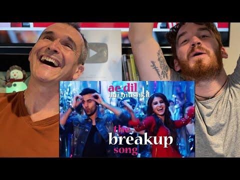 The Breakup Song - Ae Dil Hai Mushkil | Ranbir | Anushka REACTION!!