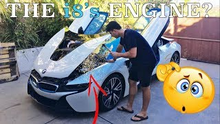Video BMW doesn't want you to see your i8's engine!? MP3, 3GP, MP4, WEBM, AVI, FLV Januari 2018