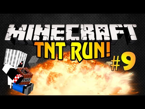 [Minecraft] TNT-Run #9 Победа!