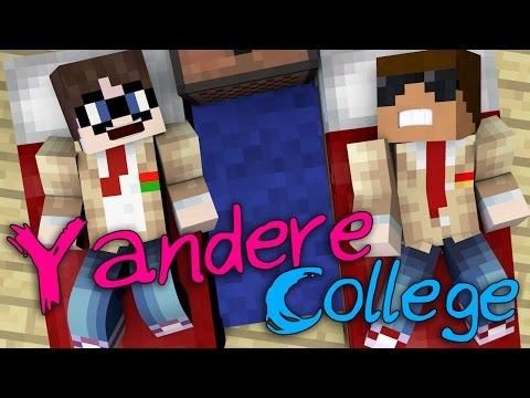 Weird Roommate   Yandere University [S1: Ep.2 Minecraft Roleplay Adventure]