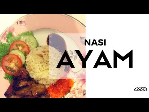 Simple & Easy Resipi Nasi Ayam | Malaysian Chicken Rice
