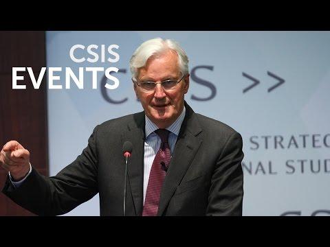 European Defense Policy Considered, feat. EU Commissioner Michel Barnier