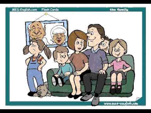 Family Member Vocabulary