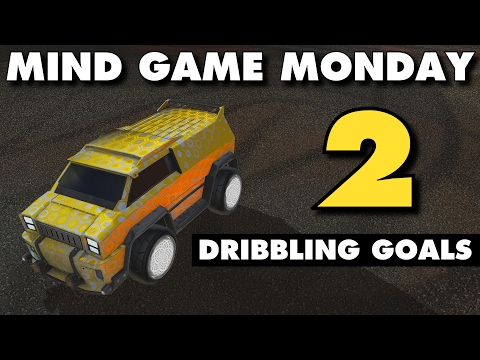 Rocket League | Mind Game Monday 2 | (Dribbling Goals)