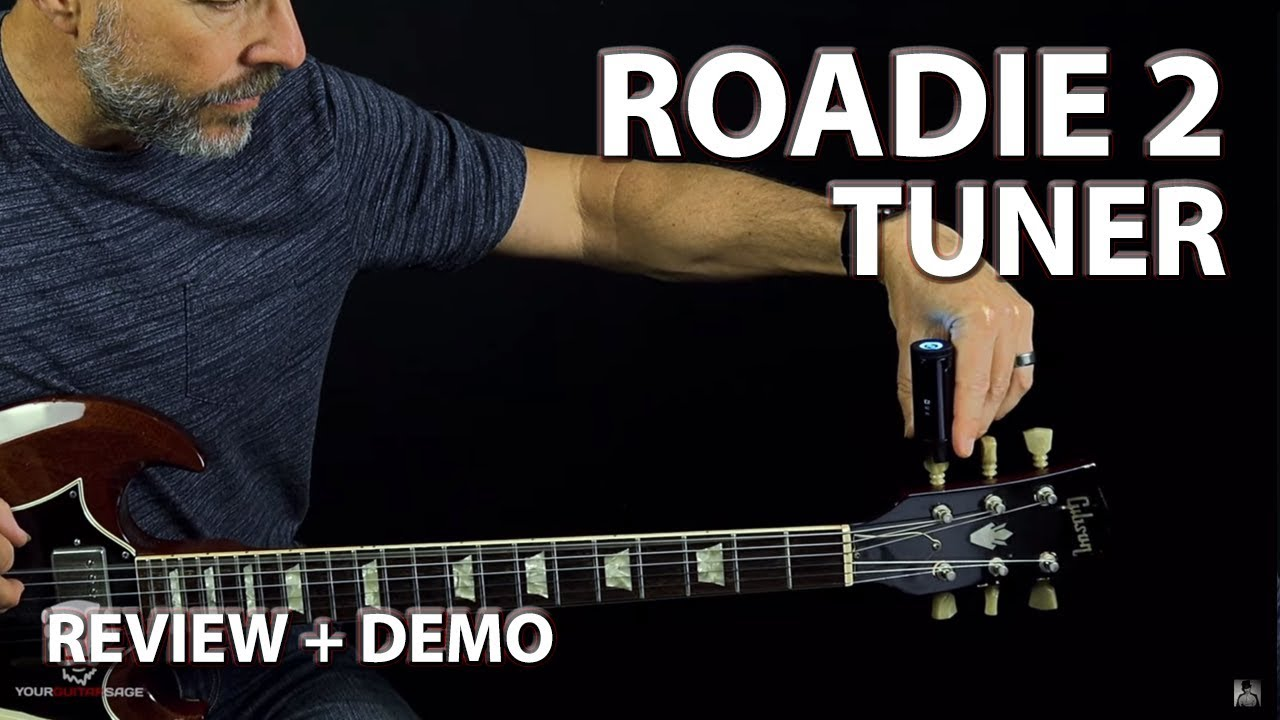 Roadie 2 Standalone Automatic Guitar Tuner (Review + Demo)