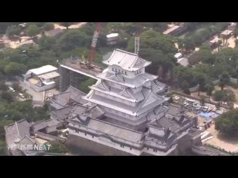 """おかえり""""白鷺"""" 姫路城リニューアル"""