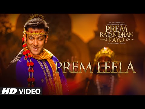 Prem Leela Song video lyrics out | Prem Ratan Dhan Payo | Salman Khan, Sonam Kap...