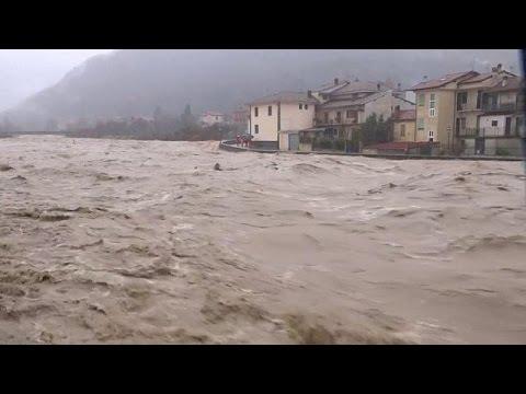 Ιταλία: Σοβαρές πλημμύρες στα βορειοδυτικά της χώρας