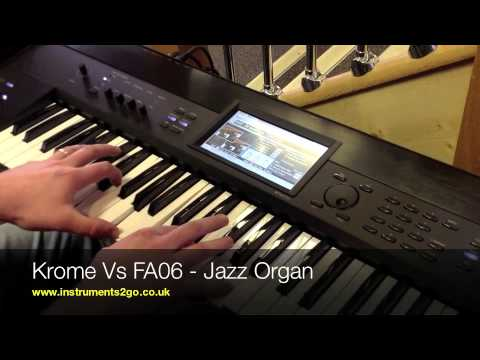 roland - Stuart Smythe demonstrates some of the very best sounds from the Korg Krome and Roland FA-06 Synth/Workstations. What do you like best? Let us know in the co...