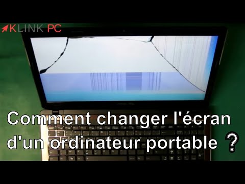 comment demonter ecran d'ordinateur portable
