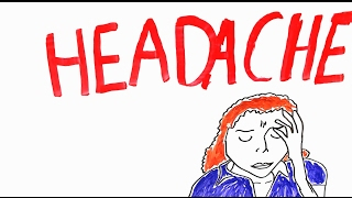 "Headaches and MigrainesThis video looks at Headaches and migraines, what are Headaches and what causes Headaches. There are many things that can cause a headache, such as being sick, physical trauma, eating cold foods or drinks and sometimes for just no reason at all. Headaches are one of the most common medical complaints. The brain itself cannot feel pain as it doesnt have any pain receptors so that isnt the cause of headaches, the thing that does seem to cause headaches are the blood vessels around the brain and the meninges. Headaches are generally divided into two groups these are ""primary"" and ""secondary"" Primary headaches are the types of headaces that everyone gets and there are 3 main types these are: Tension Headaches, Migraines and Cluster headaches. Migraines are a type of headache that normally affects one side of the head and can make you feel nausea and hate light, it is thought that serotonin plays a part in these types of headaches.  Tension headaches are a result of your muscles, if you have tense and stiff muscles maybe form  along day of work or sleeping badly then these headaches can affect you, also you can get tension headaches if you strain your eyes with the wrong glasses or looking at a screen for too long. Cluster headaches are usually more serious and are associated with histamines. It seems that blood vessels play a large part in what causes headaches, as the  constriction and dilatation is correlated to headaches. References :Disorders if the nervous system- Headaches https://www.dartmouth.edu/~dons/part_2/chapter_18.htmlMigraine: A Pain in the Meninges Headachehttp://archive.wired.com/science/discoveries/news/1999/04/19267What causes Headacheshttps://www.scientificamerican.com/article/what-causes-headaches/Why do we get headacheshttp://health.howstuffworks.com/diseases-conditions/headache/question648.htmFOLLOW METwitter and Instagram: Medic_EneTwitter: https://twitter.com/Medic_EneInstagram: https://www.instagram.com/medic_ene/MedicEne provides a fun and different view of medical problems among other things, hope you enjoy it!The information provided on this video is for informational purposes only and is not professional medical advice, diagnosis, treatment or care, nor is it intended to be a substitute therefor. Always seek the advice of a physician or other qualified health provider properly licensed to practice medicine or general health care in your jurisdiction concerning any questions you may have regarding any information obtained from this video and any medical condition you believe may be relevant to you or to someone else. Never disregard professional medical advice or delay in seeking it because of something you have seen in this video. Always consult with your physician or other qualified health care provider before embarking on a new treatment, diet or fitness program. Information obtained in this video is not exhaustive and does not cover all diseases, ailments, physical conditions or their treatment.Headaches and Migraines https://www.youtube.com/watch?v=GH0LkjcDlXg&feature=youtu.be"