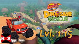 Video Blaze and the Monster Machines Dinosaur Rescue Lvl.1-15 - iOS / Android - Gameplay Video MP3, 3GP, MP4, WEBM, AVI, FLV November 2018