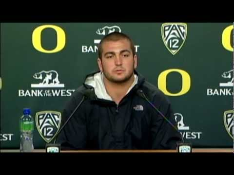 Hroniss Grasu Reacts to Chip Kelly Leaving Oregon video.