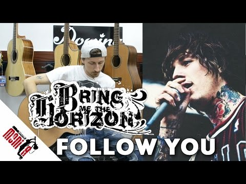 show MONICA разбор #73 - Bring Me The Horizon - Follow You [Как играть]