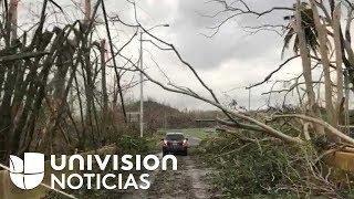 Imágenes exclusivas: La ruta de la devastación en Puerto Rico, desde Yabucoa hasta San Juan
