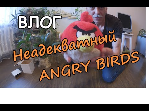 ВЛОГ: Неадекватный персонаж ANGRY BIRDS - DIY