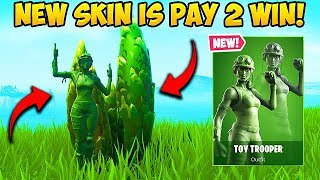 *NEW* TOY SOLDIER SKIN IS PAY TO WIN! - Fortnite Funny Fails and WTF Moments! #601