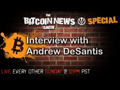 Bitcoin News Special With Andrew DeSantis video