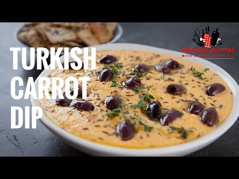 Turkish Carrot Dip | Everyday Gourmet S7 E35