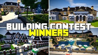 Showcasing the Winners of the Los Dangeles Building Contest on my Server!