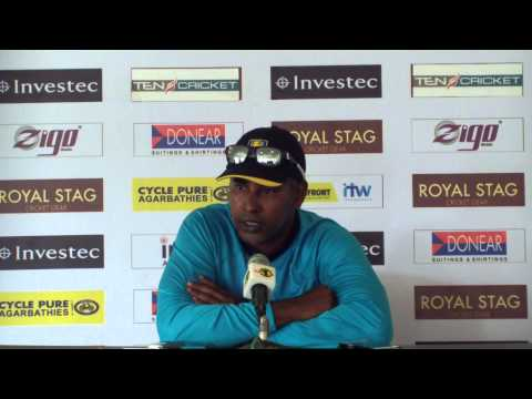 Pre match press conference with Mahela, Match 6, Sydney, CB Series, 2012