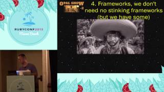 Ruby Conf 2013 - Opal, A New Hope (for Ruby Programmers)