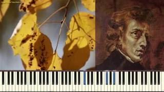 Ноктюрн ре бемоль мажор - Шопен Ф. (Nocturne in D-flat_Op.27 No.2 _,Chopin) (Пример игры)