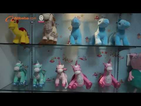 FuYing plush toys factory video