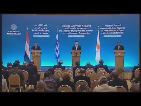 Αλ. Τσίπρας: Μήνυμα ειρήνης και σταθερότητας η τριμερής συμφωνία Ελλάδας-Κύπρου και Αιγύπτου