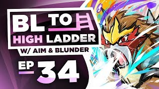 ENTEI STOMPS OU! BL TO HIGH LADDER #34 by Thunder Blunder 777