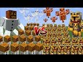 Download Lagu Minecraft 1000 SNOW GOLEMS VS 1000 MC NAVEED BATTLE / FIGHT AGAINST MOBS AND SURVIVE!! Minecraft Mp3 Free