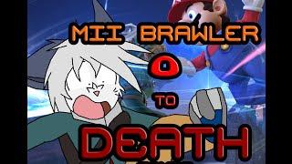 Mii Brawler 0 to Death Combo