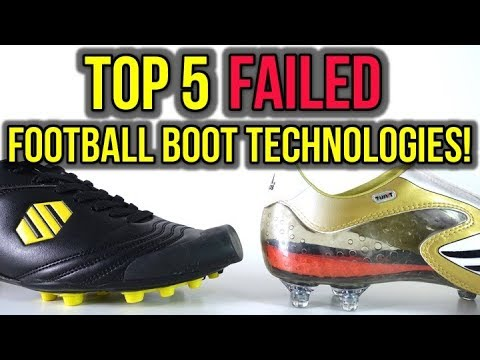 TOP 5 FAILED FOOTBALL BOOT TECHNOLOGIES OF ALL-TIME!