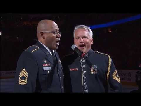 Pregame Intro/Anthems - Tampa Bay Lightning vs Washington Capitals ECF Game 3 05/15/18