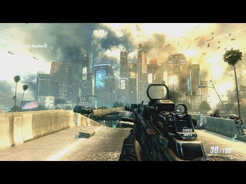 Very Very Cool Futuristic Mission From Call Of Duty Black Ops 2