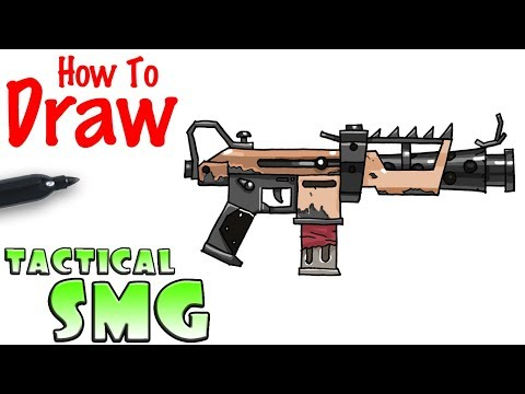 How To Draw Fortnite Guns Easy Step By Step Jdllightingstore
