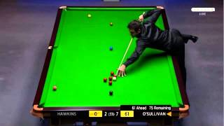 World Snooker Championship 2014 - Semi Final -  RONNIE O'SULLIVAN   Vs  BARRY HAWKINS