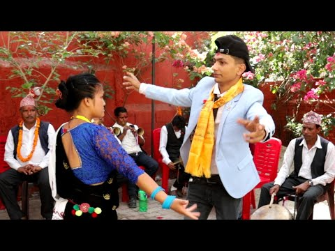 (बुटवलमा बब्बाल। Panche Baja Dance Butwal - Duration: 69 seconds.)
