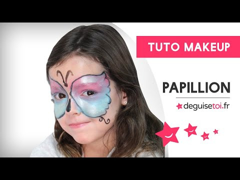 Tutoriel maquillage de papillon