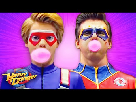 Henry Danger | Bubble-Blowing Competition | Nick (видео)