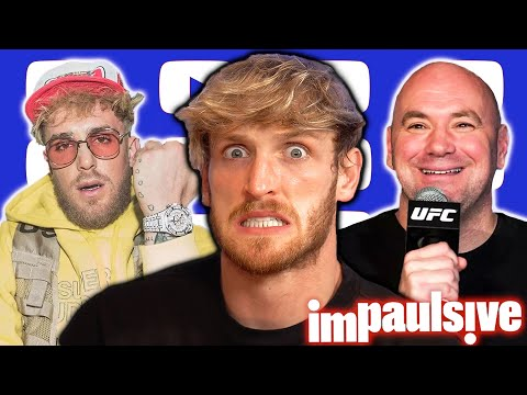 """Logan Paul Responds to Jake Paul: """"My Brother Is A Fake Fighter"""" - IMPAULSIVE EP. 249"""