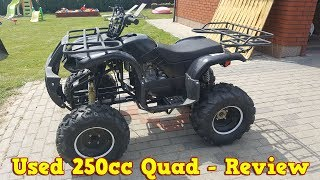 9. Cheap Chinese 250cc Quad ATV After 2 Years - Review + Test Run