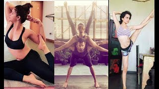 Bollywood Celebs Celebrate World Yoga Day | Shilpa Shetty, Alia Bhatt, Kareena Kapoor Khan