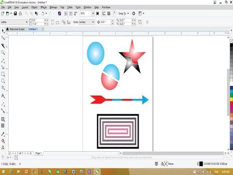 CorelDraw X8 Tutorial - 10 Basic Tips For Beginners