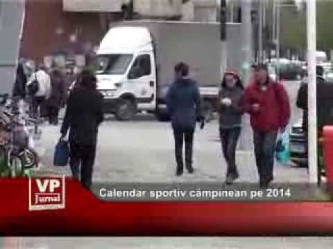 Calendar sportiv câmpinean pe 2014