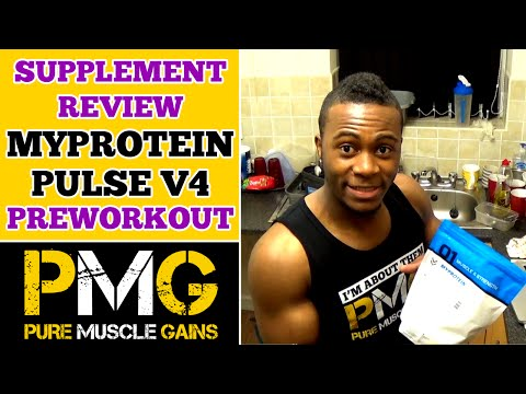 MyProtein Pulse V4 Preworkout Supplement Review | Bodybuilding on a Budget