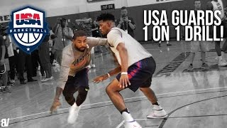 Butler (PA) United States  City pictures : USA Basketball 1 on 1 Drill | Team USA Guards Go Head To Head