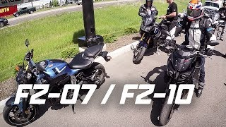 9. $20,000 MOTORCYCLE VS $7,000 MOTORCYCLE (FZ-07, FZ-10 FIRST RIDE)